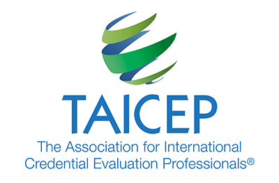 Logo: The Association for International Credential Evaluation Professionals